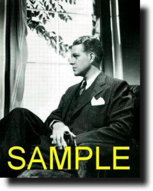 8X10 NELSON EDDY 1937 RARE VINTAGE PHOTO PRINT