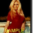 16X20 BRIGITTE BARDOT COLOR GICLEE CANVAS PHOTO PRINT