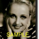 16X20 CAROLE LOMBARD GICLEE CANVAS PHOTO PRINT
