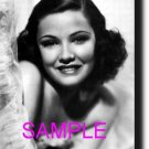 16X20 GENE TIERNEY 1939 GICLEE CANVAS PHOTO PRINT