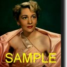 16X20 JOAN FONTAINE COLOR GICLEE CANVAS PHOTOPRINT