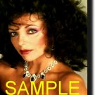 16X20 JOAN COLLINS COLOR GICLEE CANVAS PHOTO PRINT