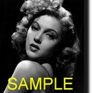 16X20 LANA TURNER GICLEE CANVAS PHOTO PRINT