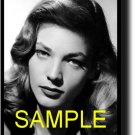 16X20 LAUREN BACALL GICLEE CANVAS PHOTO PRINT