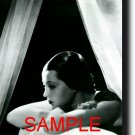 16X20 SYLVIA SIDNEY 1935 GICLEE CANVAS PHOTO PRINT