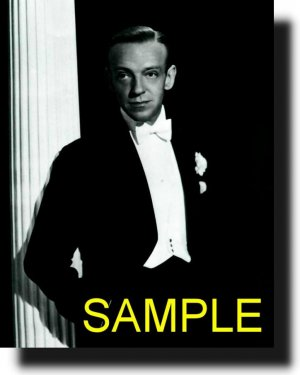 16X20 FRED ASTAIRE 1941 GICLEE CANVAS PHOTO PRINT