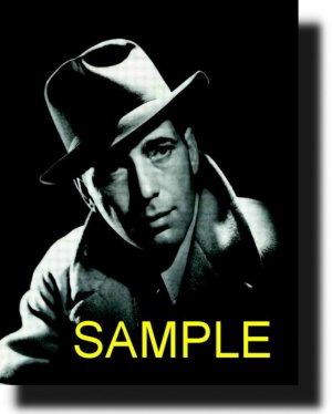 16X20 HUMPHREY BOGART GICLEE CANVAS PHOTO PRINT
