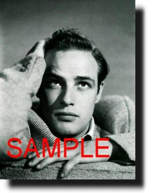 16X20 MARLON BRANDO 1949 GICLEE CANVAS PHOTO PRINT