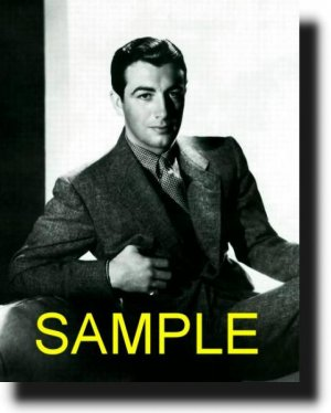 16X20 ROBERT TAYLOR 1936 GICLEE CAMVAS PHOTO PRINT