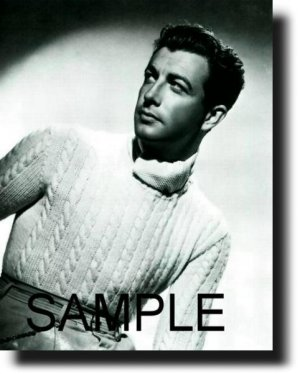 16X20 ROBERT TAYLOR 1937 GICLEE CANVAS PHOTO PRINT