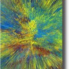 16X20 ORIGINAL ABSTRACT GICLEE CANVAS PRINT 047