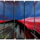 32X60 ORIGINAL ABSTRACT GICLEE CANVAS PRINT 010