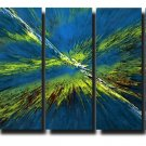 32X60 ORIGINAL ABSTRACT GICLEE CANVAS PRINT 080