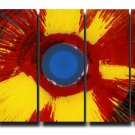 32X60 ORIGINAL ABSTRACT GICLEE CANVAS PRINT 088