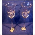 Sam's Town Heart Champagne Glasses