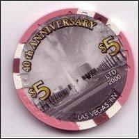 Caesars Palace 40th Anniversary Chip