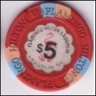 Flamingo Laughlin $5 Chip