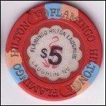 Flamingo Laughlin $5 Chip