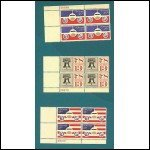 Airmail Plate Block Stamps