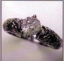 Ladies White Gold Ring with.93 Carat Diamond