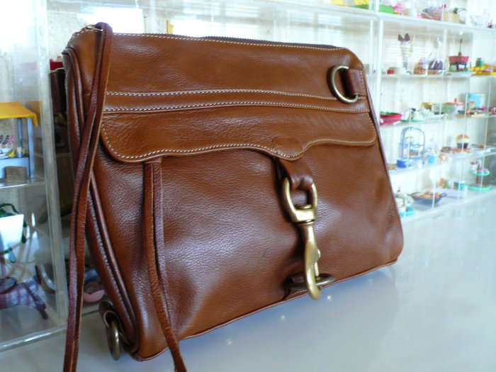 Rebecca Minkoff Morning After Clutch MAC in Chocolate *Price Reduced*
