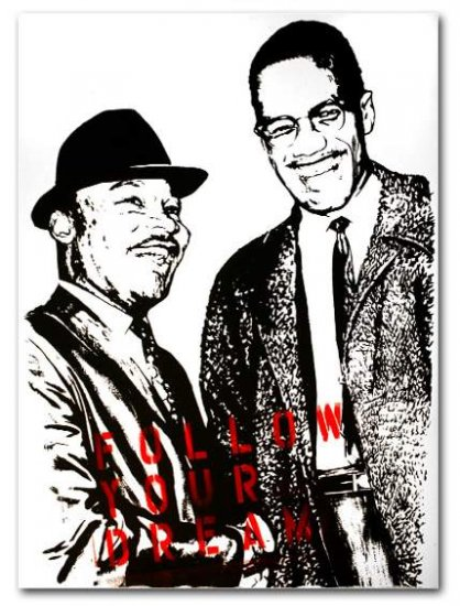MR BRAINWASH MARTIN LUTHER KING FOLLOW YOUR DREAM LIMITED EDITION OF 50