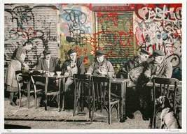 MR BRAINWASH LE BISTRO LIMITED EDITION SIGNED AND NUMBERED PRINT