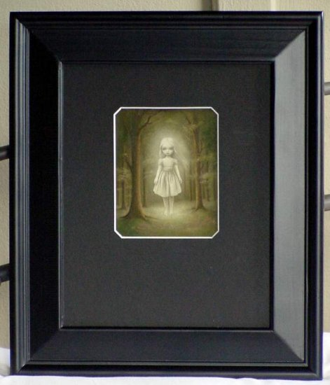 MARK RYDEN GHOST GIRL FRAMED GOTHIC LOWBROW MASTERPIECE