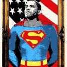MR BRAINWASH OBAMA SUPERMAN SIGNED AND NUMBERED LIMITED EDITION
