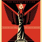 Shepard Fairey Obey Giant We Own The Future Art Limited Edition