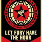 Shepard Fairey Obey Giant Let Fury Have The Hour Art Limited Edition