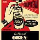 Shepard Fairey Obey Giant Coup D'etat Limited Edition Graffiti Spray Paint Can Art