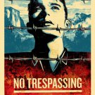 Shepard Fairey Obey Giant This Land is Your Land No Trespassing Art Limited Ed
