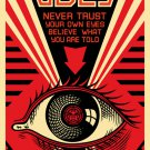 Shepard Fairey Obey Giant Offset Eye Art Limited Edition
