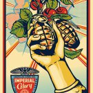 Shepard Fairey Obey Giant Imperial Glory Street Art Signed