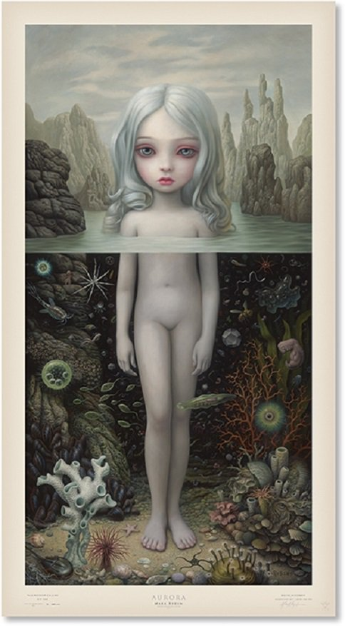 """Mark Ryden """"Aurora"""" Signed and Numbered Edition of 500 with Certificate of Authenticity"""