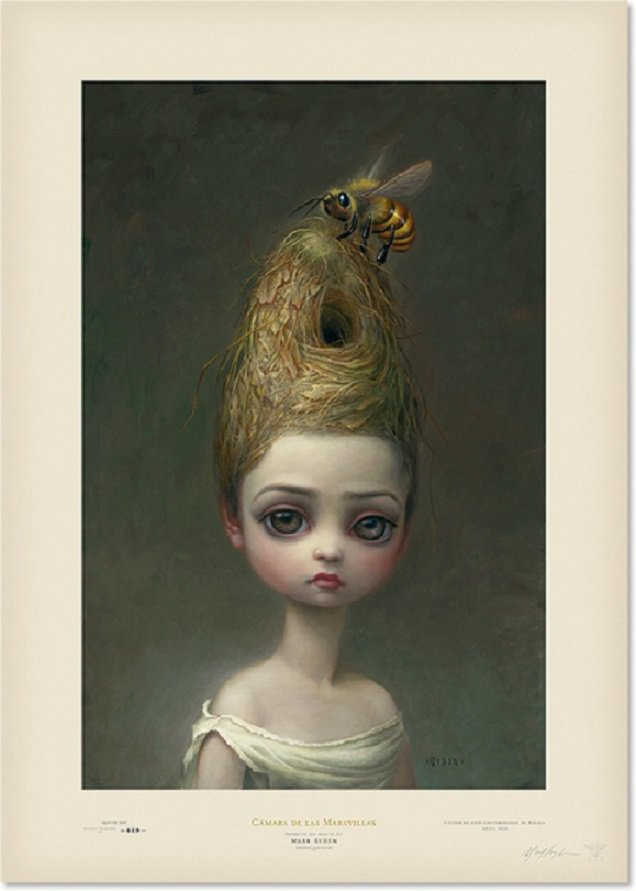 """Mark Ryden """"Queen Bee"""" Signed and Numbered Edition of 500 with Certificate of Authenticity"""