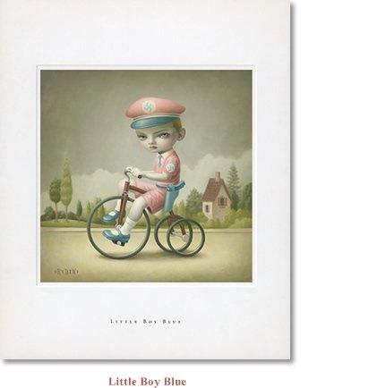 "Mark Ryden ""Little Boy Blue"" Limited Edition Lithograph Print"