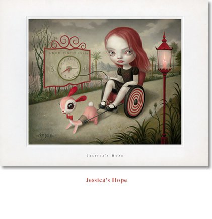 "Mark Ryden ""Jessica's Hope"" Limited Edition Lithograph Print"