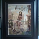 "Mark Ryden ""Main Street USA"" Bicycle Little Girl Lowbrow Art"