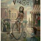 "Mark Ryden ""Main Street USA"" Official Porterhouse Miniature Microportfolio Print"