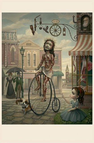 "Mark Ryden ""Main Street USA"" Official Porterhouse Miniature Microportfolio Print"