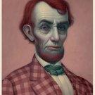 "Mark Ryden ""Pink Lincoln"" Official Porterhouse Miniature Microportfolio Print"