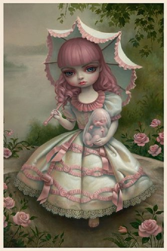 "Mark Ryden ""Virgin and Child"" Official Porterhouse Miniature Microportfolio Print"