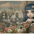 "Mark Ryden ""Katy Aphrodite"" (Katy Perry) Official Porterhouse Miniature Microportfolio Print"