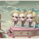 "Mark Ryden ""Piano Man"" Official Porterhouse Miniature Microportfolio Print"