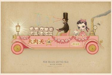 "Mark Ryden ""The Grand Motor Car"" Official Porterhouse Miniature Microportfolio Print"