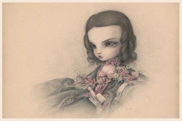 "Mark Ryden ""Isabelle"" Official Porterhouse Miniature Microportfolio Print"