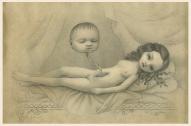 """Mark Ryden """"Dream in Spite of the Real Afternoon"""" Official Microportfolio Print"""
