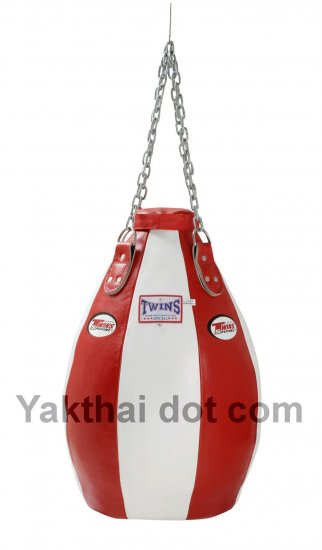 TWINS Teardrop Heavy Bag Full Leather Unfilled - PPL size S